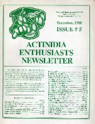 Actinidia Enthusiasts Newsletter  Issue # 5 December 1988