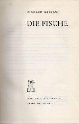 Gerlach,Richard  Die Fische