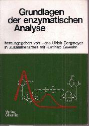 Bergmeyer,Hans Ulrich+Karlfried Gawehn  Grundlagen der enzymatischen Analyse