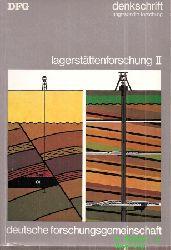 Deutsche Forschungsgemeinschaft  Denkschrift zur Lagenstättenforschung Teil II