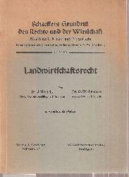 Wiefels,J. und O.Wöhrmann  Landwirtschaftsrecht