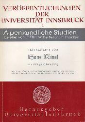 Fliri,Franz u.a.  Festschrift für Hans Kinzl zum siebzigsten (70.) Geburtstag