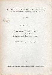 Göttinger Geographische Abhandlungen  Heft 45.Karl-Ulrich Brosche:Struktur-und Skulpturformen im nördlichen