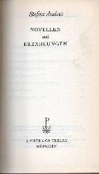 Andres,Stefan  Novellen und Erzählungen
