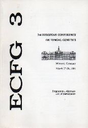 3rd European Conference on Fungal Genetics  March 27-30,1996. Münster,Germany