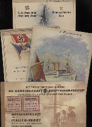 Kraft durch Freude  Italienfahrt mit der Oceana vom 25.Januar bis 4. Fabruar 1938