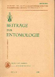 Beiträge zur Entomologie  Beiträge zur Entomologie Band 29 1979 Heft 2