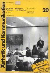 Ästhetik und Kommunkation  Jahrgang 6.Heft 20.Juni 1975