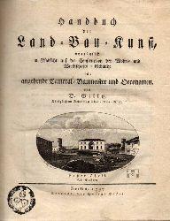 Gilly,David  Handbuch der Land-Bau-Kunst vorzüglich in Rücksicht auf die
