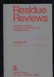 Residue Reviews  Volume 67
