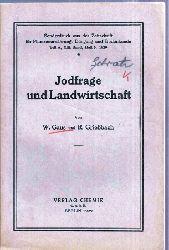 Gaus,W.+R.Grießbach  Jodfrage in der Landwirtschaft