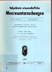 Kornmann,P.+P.-H. Sahling  Meeresalgen von Helgoland - Benthische Grün, Braum- und Rotalgen