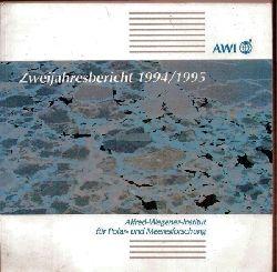 Alfred-Wegener-Institut  Zweijahresbericht 1994/1995