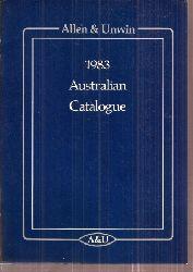 Allen & Unwin  Australian Catalogue 1983