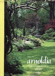 arnoldia  Volume 55. Jahr 1995, Number 1 bis 4 (4 Hefte)