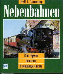 Temming,Rolf L.  Nebenbahnen