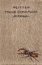 Reitter,Edmund  Fauna Germanica Die Käfer des Deutschen Reiches IV.Band