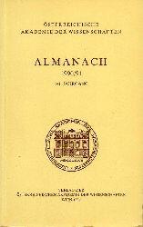 Österreichische Akademie der Wissenschaften  Almanach 1990/91.141.Jahrgang