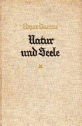 Dacque,Edgar  Natur und Seele
