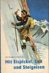 Seyfert,Franz  Mit Eispickel,Seil und Steigeisen