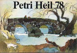 ABU. Petri Heil 1978  Angelzubehörkatalog