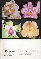 Deutsche Orchideen-Gesellschaft e.V.  Wegweiser zu den Orchideen Ausgabe 1981