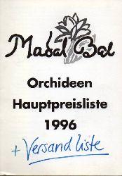 Madal Bal Orchideen GmbH  Orchideen Hauptpreisliste 1996
