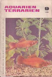 Aquarien Terrarien  12.Jahrgang.1965.Heft 9,10 und 12.13.Jahrgang.1966.Heft 1
