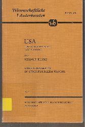 Blume,Helmut  USA eine geographische Landeskunde