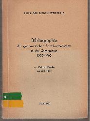 Fleischer,Wolfgang+Ernst Eichler  Bibliographie der germanistischen Sprachwissenschaft in der