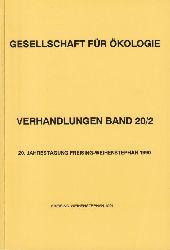Gesellschaft für Ökologie  GfÖ Verhandlungen Band20/2 20.Jahrestagung Freising-Weihenstephan 1990