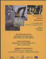 Krautzer,B./Hacker,E.  Conference. 5. - 9. September 2006 HBLFA  Ingenieurbiologie