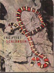 Stanek,V.J.  Ungiftige Schlangen