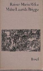 Rilke,Rainer Maria  Die Aufzeichnungen des Malte Laurids Brigge