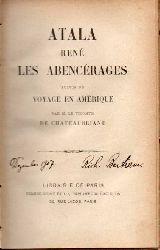 Chateaubriand,M.Le.De  Atala rene les Abencerages suivis du Voyage en Amerique