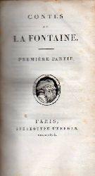 Fontaine,Jean de la  Contes de La Fontaine. Première Partie