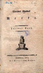 Claudius,Matthias  Werke.Zweiter Band. Asmus omnia sua Secum portans oder