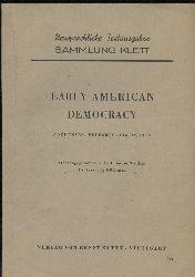 Walker,Theodor (Hrsg.)  Early American Democracy