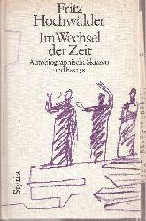 Hochwälder,Fritz  Im Wechsel der Zeit