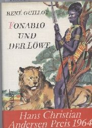 Guillot,Rene  Fonabio und der Löwe