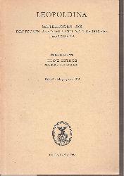 Leopoldina  Jahrgang 25.Reihe 3. 1979