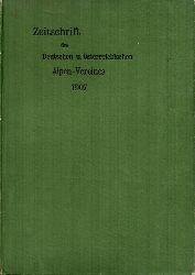 Deutscher und Österreichischer Alpenverein  Zeitschrift.Jg.1907.Band XXXVIII