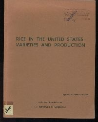 Agricultural Research Service  Rice in the United States: Varieties and Production