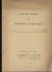 Rieck,Georg Wilhelm  Giessener Beiträge zur Erbpathologie und Zuchthygiene Januar 1961