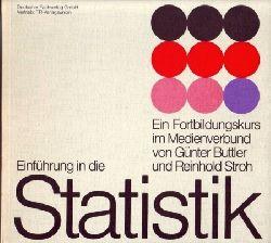 Buttler,Günter+Reinhold Stroh  Einführung in die Statistik