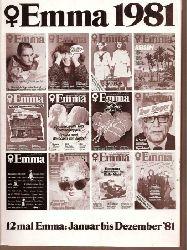 Emma 1981  Emma Jahresband 1981