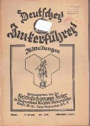Deutscher Imkerführer  13.Jahrgang 1939 / 40 Heft 1 bis 12 (12 Hefte)
