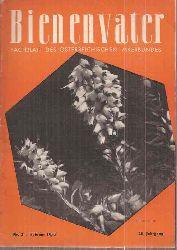 Bienenvater  Bienenvater 76.Jahrgang 1955 Heft 2 (1 Heft)