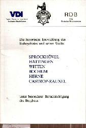 Beier,Ernst (Hsg.)  Die historische Entwicklung des Ruhrgebietes und seiner Städte