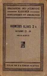 Ameis,Karl Friedrich  Homers Ilias